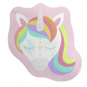 Forme de coussin face unicorn  TEXTILE   DISTRIMOBEL Muemue -