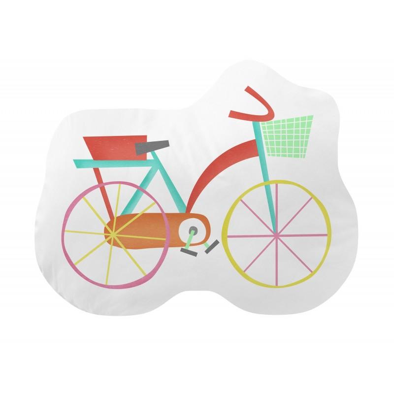 Almofada pontos de refrigeração bici forma  TÊXTIL
