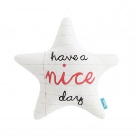 Cojín nice day estrella textil Cojines DISTRIMOBEL Muemue - Muebles