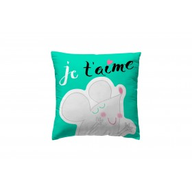 Funda tea up je t aime  textil Cojines   DISTRIMOBEL Muemue - Muebles