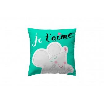 Funda tea up je t aime textil Cojines DISTRIMOBEL Muemue - Muebles