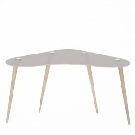 Mesa escritorio cristal templado polaris  Muebles juveniles  Color: translúcido; Tipo de producto: escritorios; Estructura /