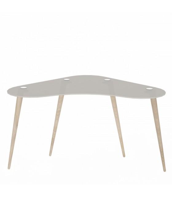 Mesa escritorio cristal templado polaris