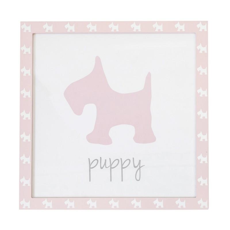 Cuadro puppy 38x40cm  Home Cargas de producto  Incluye herramientas: si - incluye herramientas; Tipo de producto: cuadro colgar;