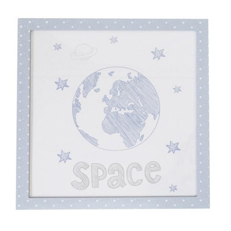 Cuadro space 38x40cm  Cargas de producto  El paquete cabe en el ascensor: si - el paquete cabe en el ascensor; Incluye