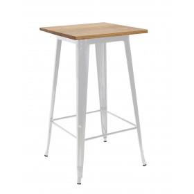 Mesa alta linx  Mesas de cocina COLORES DISPONIBLES: blanco, negro El paquete cabe en el ascensor: si - el paquete cabe en el