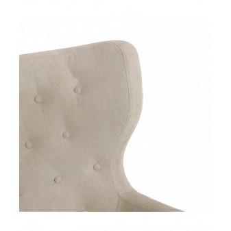 Sillón capitoné Salón Sofás y sillones COLORES DISPONIBLES: beige, gris El paquete cabe en el ascensor: si - el paquete cabe en