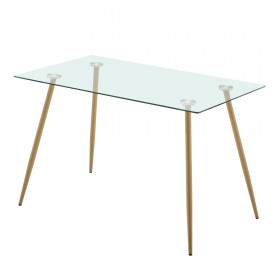 Mesa de metal patas de mesa fixa Importação Distrimobel