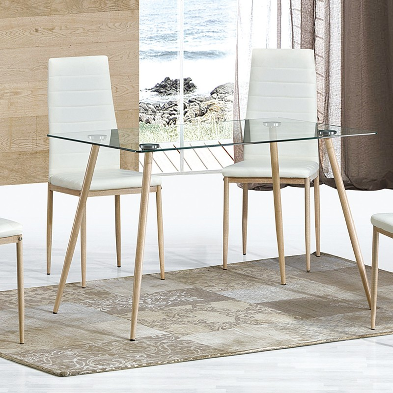 Fixed table legs metal sawn  Distrimobel import  Color: