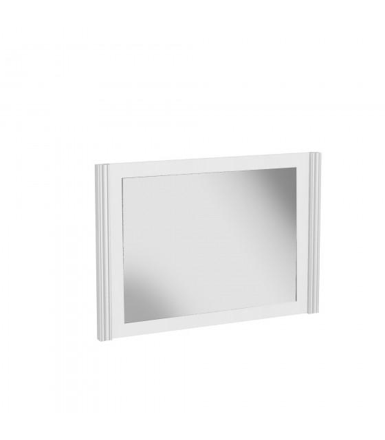 Espejo mediano blanco