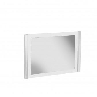 Espelho médio branco Importação Distrimobel El paquete cabe