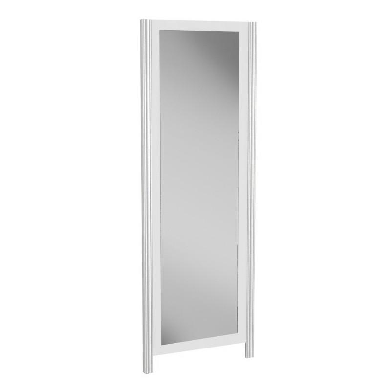 Espejo alto blanco  Hogar Salón  Color: blanco; Tipo de producto: espejos; Acccesorios Incluidos: incluye herraje para colgar;