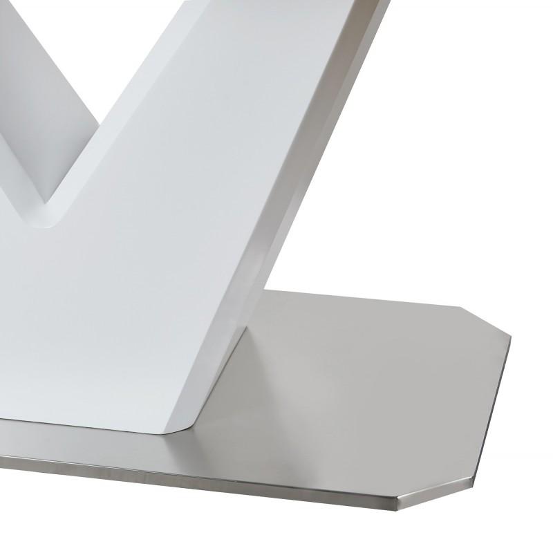 Mesa extensible v  Salón Mesas de comedor COLORES DISPONIBLES: blanco, aserrado blanco Material Principal: mdf; Espesor Material