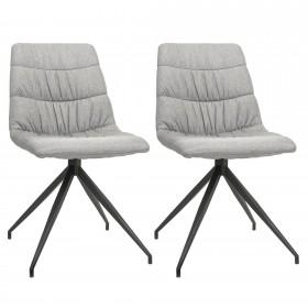 Pack 2 cadeiras alpin grey Importação Distrimobel COLORES