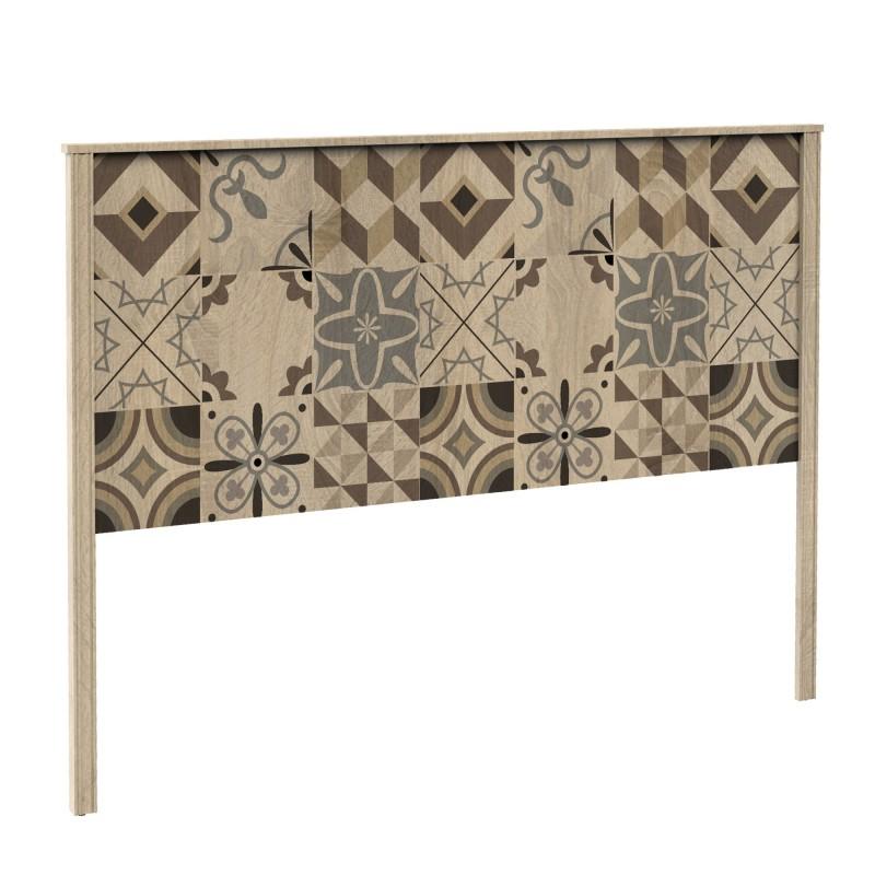 Cabecero madera diseño baldosas  Muebles Dormitorio Cabeceros de madera  Incluye herramientas: si - incluye herramientas; Patas: