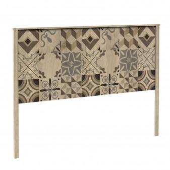 Cabecero madera diseño baldosas Muebles Dormitorio Cabeceros de madera El paquete cabe en el ascensor: si - el paquete cabe en