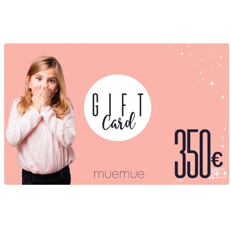 Tarjeta De Regalo 350€  Home Tarjetas de regalo    Muemue - Muebles