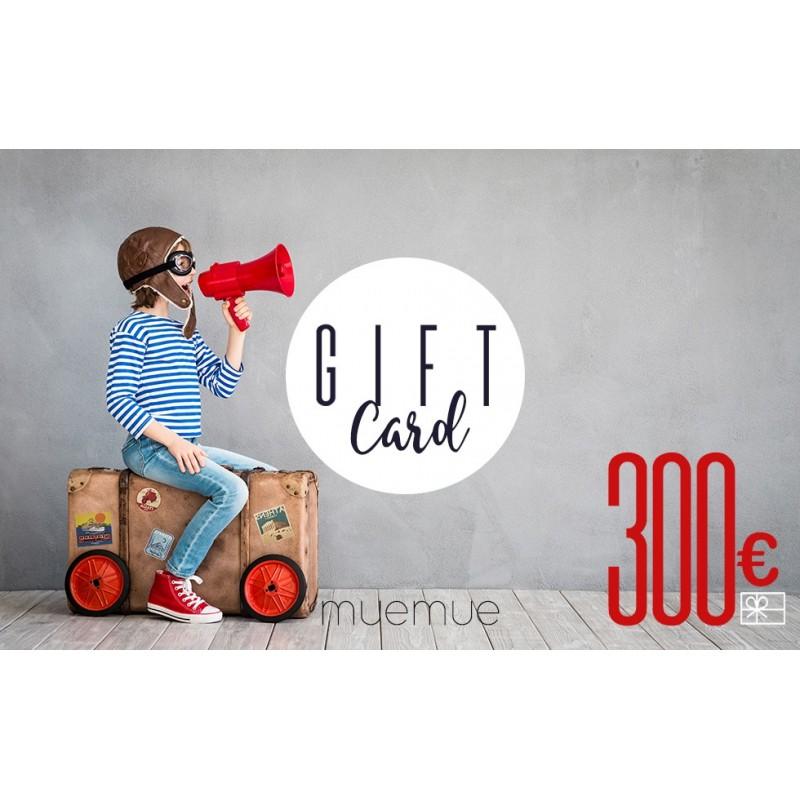 Tarjeta De Regalo 300€  Tarjetas de regalo    Muemue - Muebles