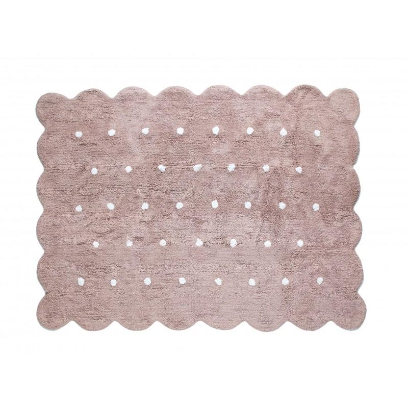 Alfombra Infantil topitos - Lavable (160*120 cm)  textil Alfombras COLORES DISPONIBLES: azul frozen, rosa pastel, berenjena