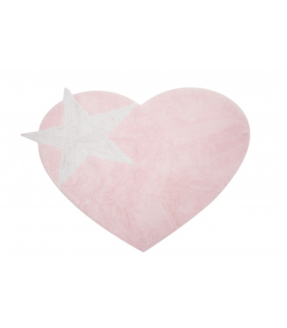 Alfombra Infantil Love Star  - Lavable  160 x 120 cm.