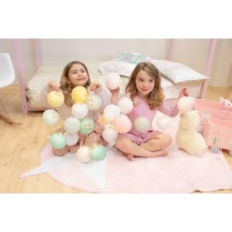 Guirnaldas luminosas led love Decoración Infantil Guirnaldas y lamparas COLORES DISPONIBLES: verde menta, rosa pastel