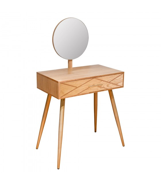 Table de toilette nordique chic