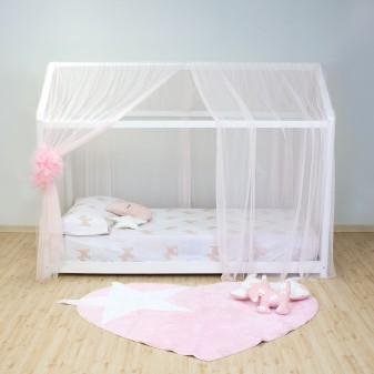 Dosel Rosa de puntos Petit textil doseles y techos de tela Muemue - Muebles
