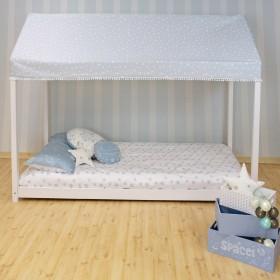 Techo para cama casita montessori  textil doseles y techos de tela    Muemue - Muebles