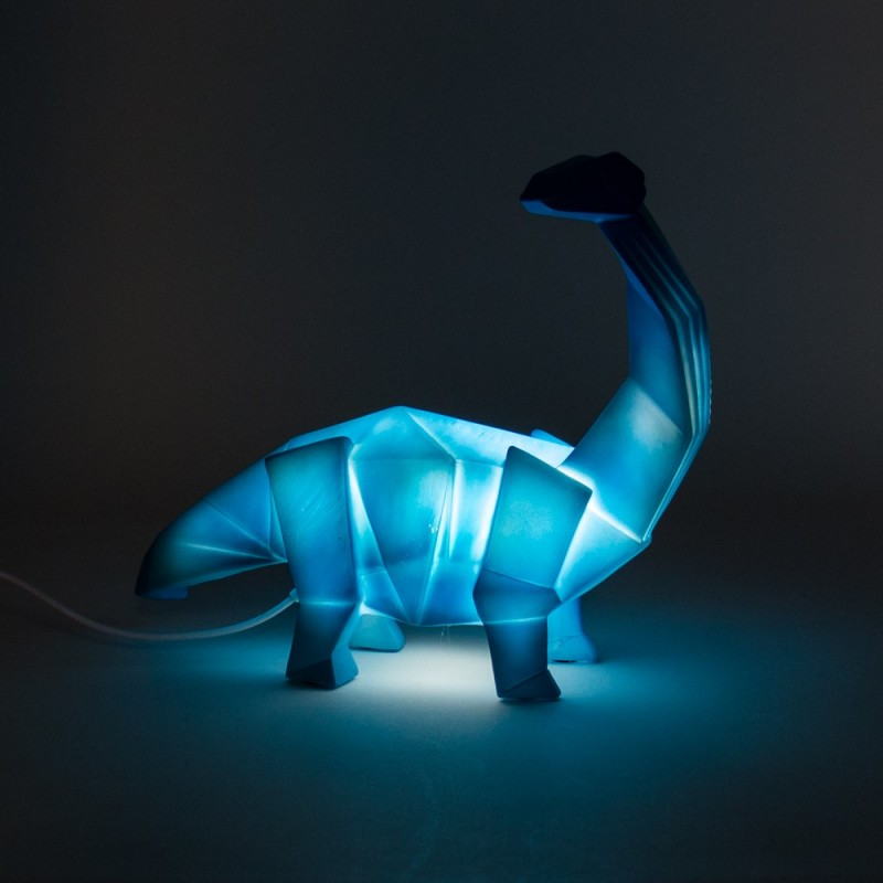 Lampara Dino geometric  Decoración Infantil Guirnaldas y lamparas    Muemue - Muebles