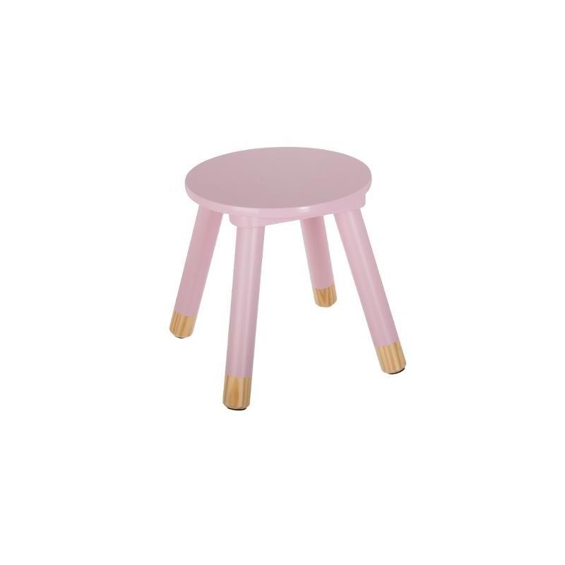 Taburete baby pink  Decoración Infantil Mesitas, sillas y Pupitres    Muemue - Muebles