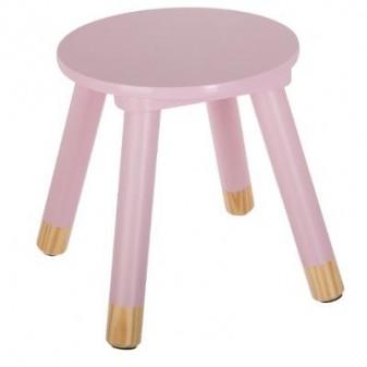 Taburete baby pink