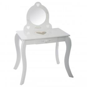Tocador y taburete Decoración Infantil Mesitas, sillas y Pupitres Muemue - Muebles