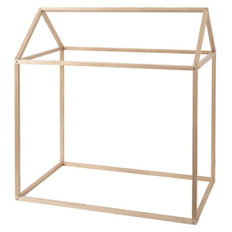 Casita cabaña de juego  Muebles juveniles Camas y literas opciones: con cubierta de tela, sin cubierta de tela   Muemue - Mueble