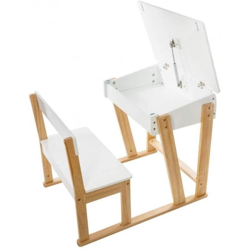 Escritorio pupitre con silla aventura  Decoración Infantil Mesitas, sillas y Pupitres    Muemue - Muebles