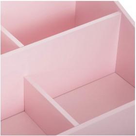 Biblioteca Rosa con patas de madera Decoración Infantil Percheros y estanterías Muemue - Muebles