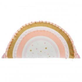 Cojín arcoiris pompon  textil Cojines    Muemue - Muebles