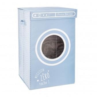 Cesta de ropa lavadora magic  Decoración Infantil Cajas y cestos COLORES DISPONIBLES: azul frozen, rosa pastel  MUEMUE Muemue -