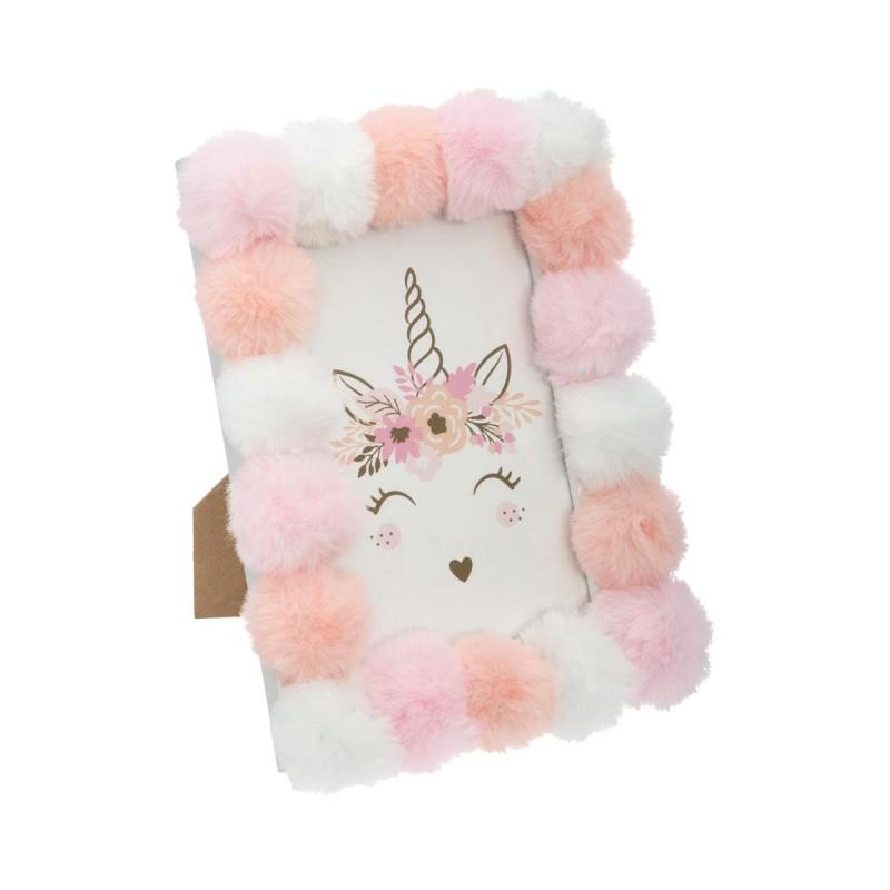 Marco pompón unicornio  Decoración Infantil Accesorios Deco    Muemue - Muebles