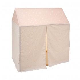 Techo para cama casita 60x120 cm textil doseles y techos de tela Muemue - Muebles