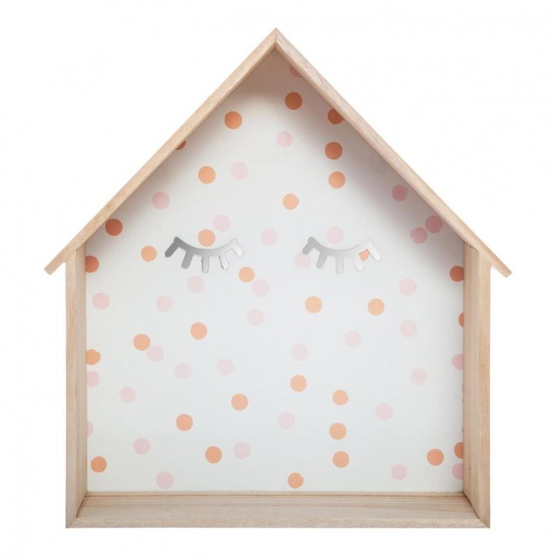 Estanterías CASITAS Pestañas  Decoración Infantil Decoración de pared    Muemue - Muebles