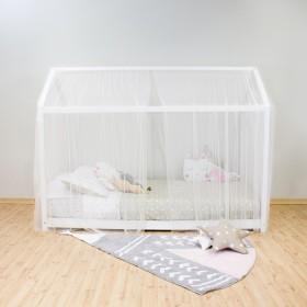 Dosel TUL para camas casita montessori