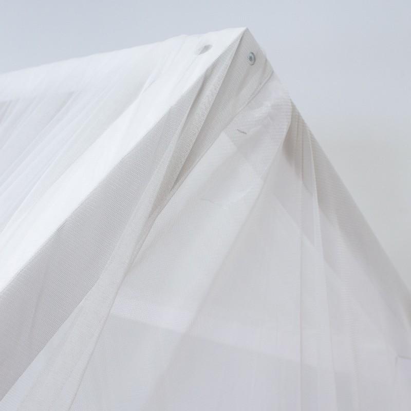 Tettuccio bianco di punti Petit