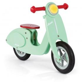 Bicicleta scooter verde menta cool