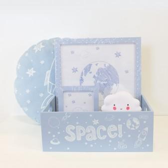 Canastilla bebe regalo M  Home canastilla COLORES DISPONIBLES: azul frozen, rosa pastel, gris, blanco y negro  MUEMUE Muemue -
