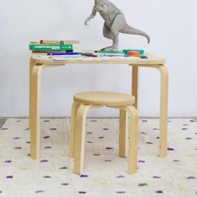 Set Mesa + 2 Taburetes MONTESSORI  Home Montessori   DISTRIMOBEL Muemue - Muebles