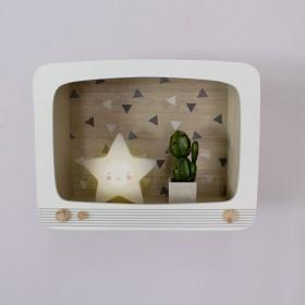 Estantería TV Decoración Infantil Percheros y estanterías Muemue - Muebles