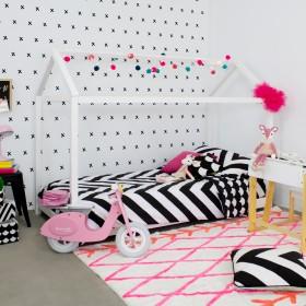 Cama infantil montessori casita  Camas y literas COLORES DISPONIBLES: blanco, pino, rosa pastel Medidas: 2000x1000x1500mm;