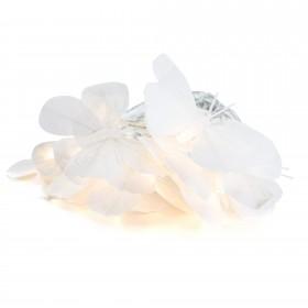 Led de mariposas blancas Decoración Infantil Guirnaldas y lamparas Muemue - Muebles