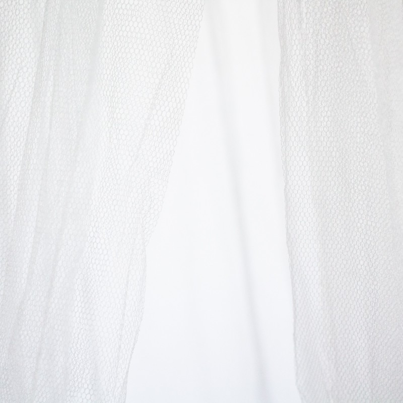 Dosel Star  textil doseles y techos de tela COLORES DISPONIBLES: gris perla, rosa pastel   Muemue - Muebles