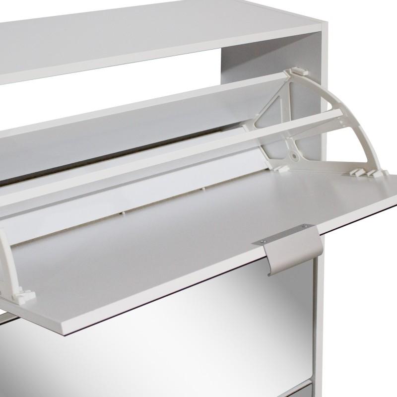 ZAPATERO VITERBO BLANCO 3 TRAMPONES ESPEJOS  Home Cargas de producto  Incluye herramientas: si - incluye herramientas; Color: